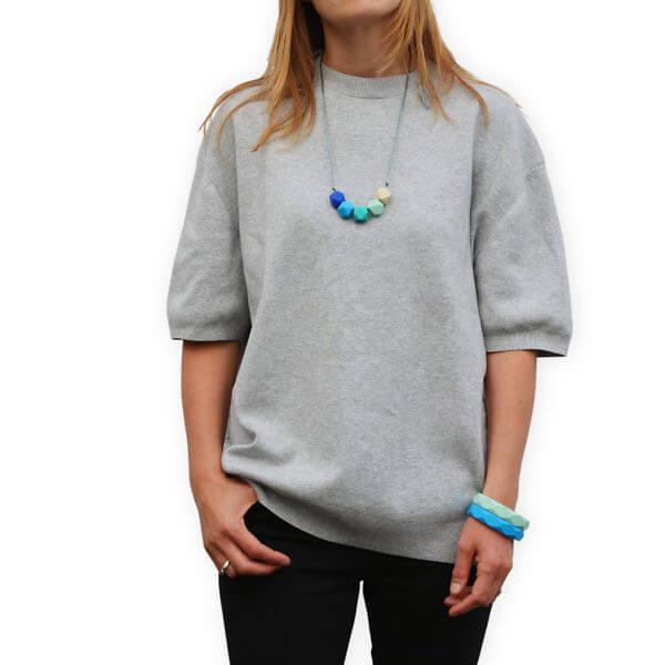 Main image - lara _ ollie teething necklaces_