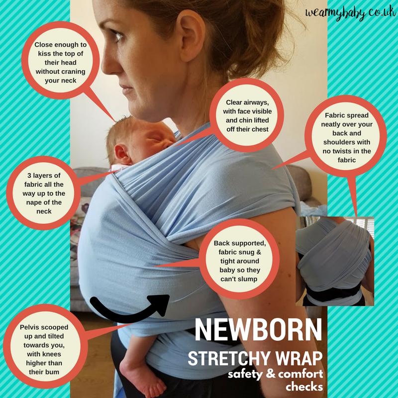 newborn baby stretchy wrap