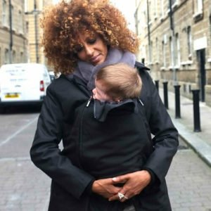 babywearing coat wombat london