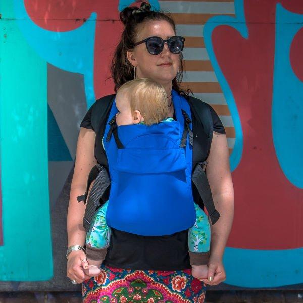 Integra solar ergonomic connecta solar baby carrier size 1 water sling UV beach holiday sling travel uk discount code blue ocean