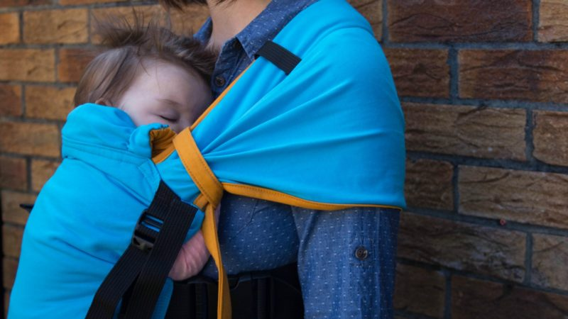 mamaruga zensling review newborn baby carrier