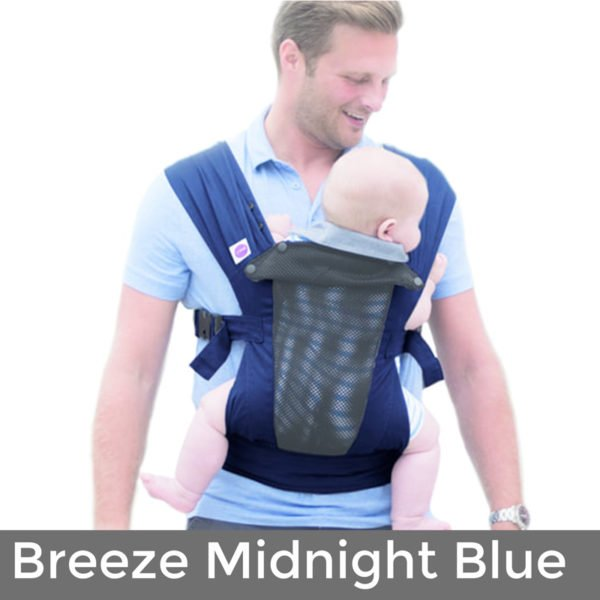 izmi baby carrier Breeze - Midnight Blue