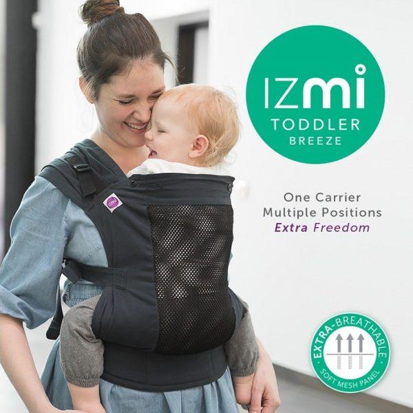 Izmi toddler carrier breeze midnight blue
