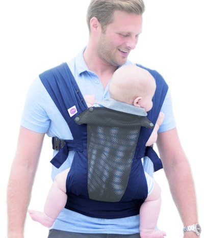 Izmi baby carrier breeze midnight blue uk free delivery