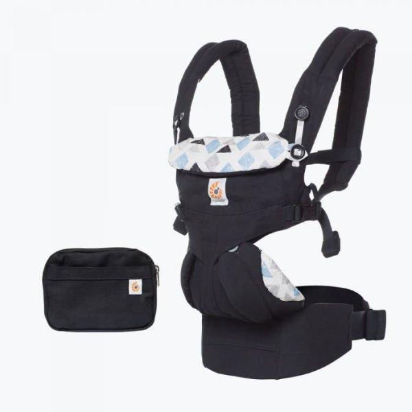 fa587936141 ergobaby ergo baby newborn ergonomic baby carrier uk discount code black  Triple Triangles