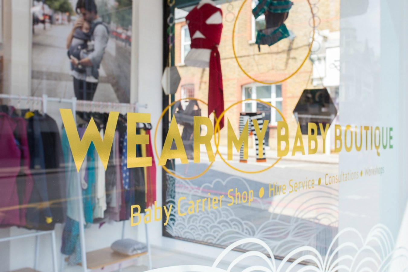 wear my baby boutique tooting london sling shop sling library baby carriers