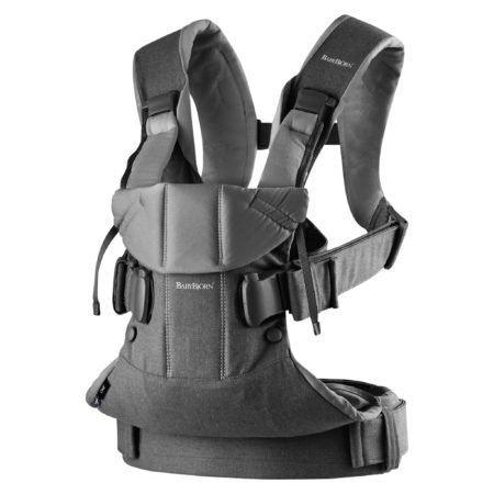 Baby Carrier One, Dark Grey, Cotton babybjorn uk free delivery discount code