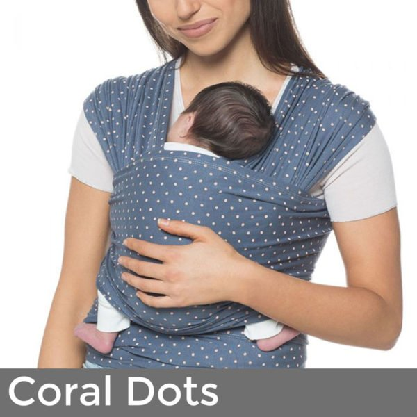 ergobaby baby wrap coral dots uk free delivery discount code