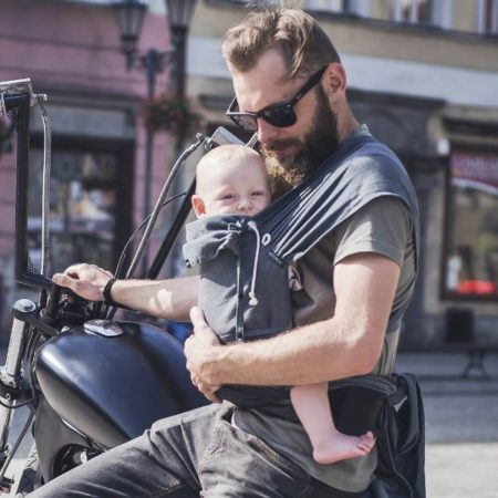 Didymos Didyclick didyklick half buckle baby carrier uk discount code free delivery ergonomic baby carrier woven wrap conversion double face anthracite grey