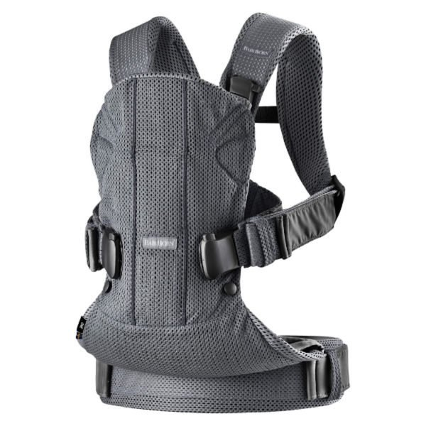 Baby Carrier One Air ergonomic mesh newborn baby carrier product anthracite grey black