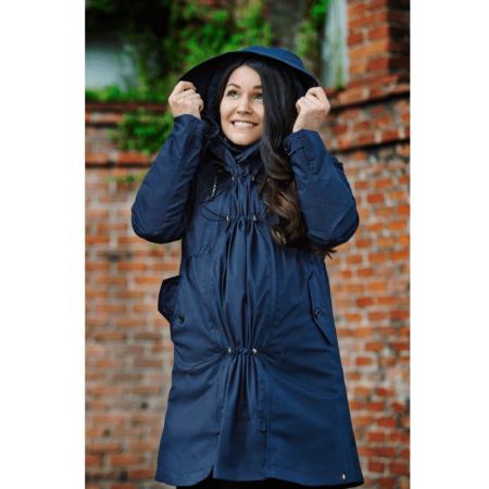 wombat and co london babywearing KOWARI coat jacket pregnancy all seasons FREE delivery uk discount code