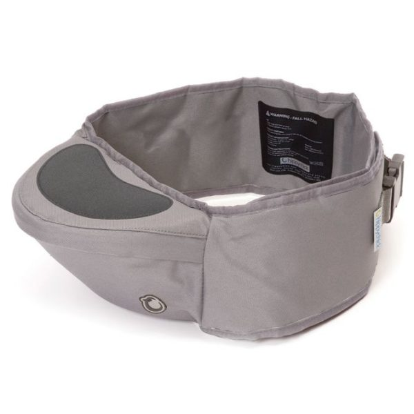 hippychick hip seat carrier toddler carrier uk free delivery discount code grey close up product