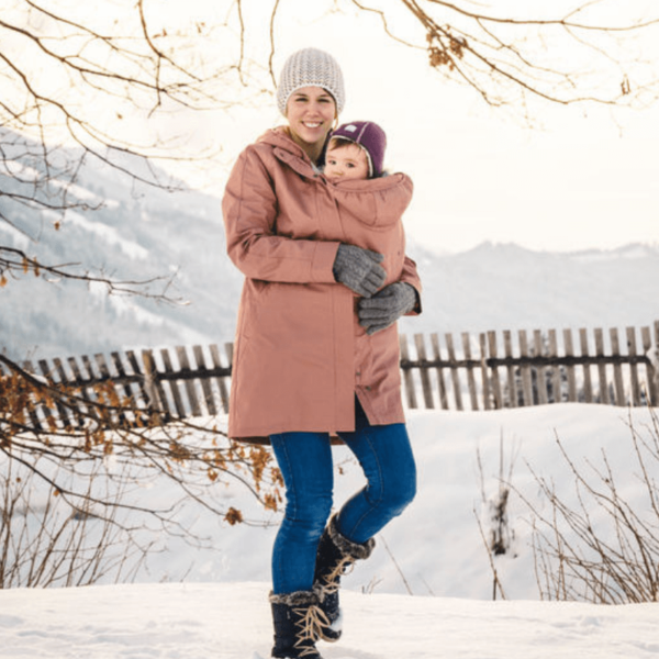 mamalila short coat babywearing maternity jacket uk discount code khaki lifestyle