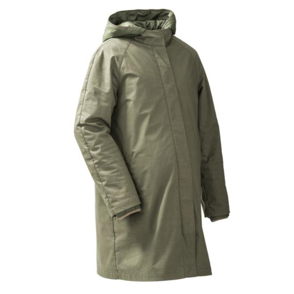 mamalila short coat babywearing maternity jacket uk discount code khaki product close up without insert