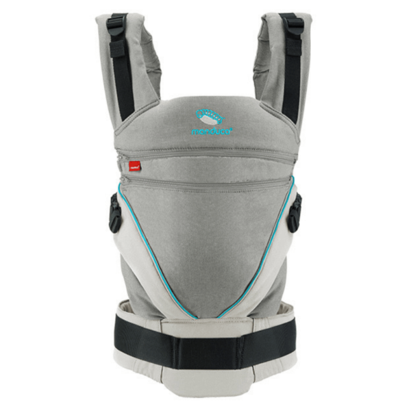 manduca xt uk ergonomic baby toddler carrier discount code free delivery grey blue product view from front
