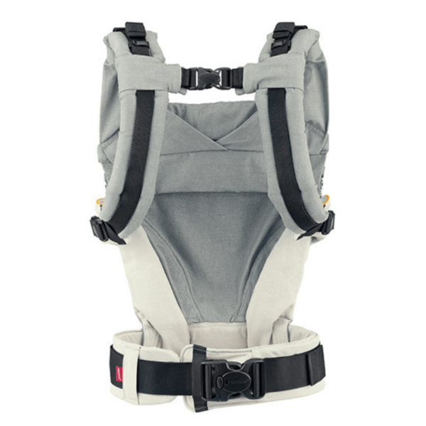 manduca xt uk ergonomic baby toddler carrier discount code free delivery grey blue rear product view
