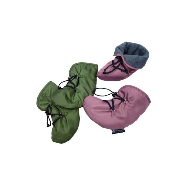 baby booties for babywearing winter quilted windproof waterproof mamalila uk freed delivery