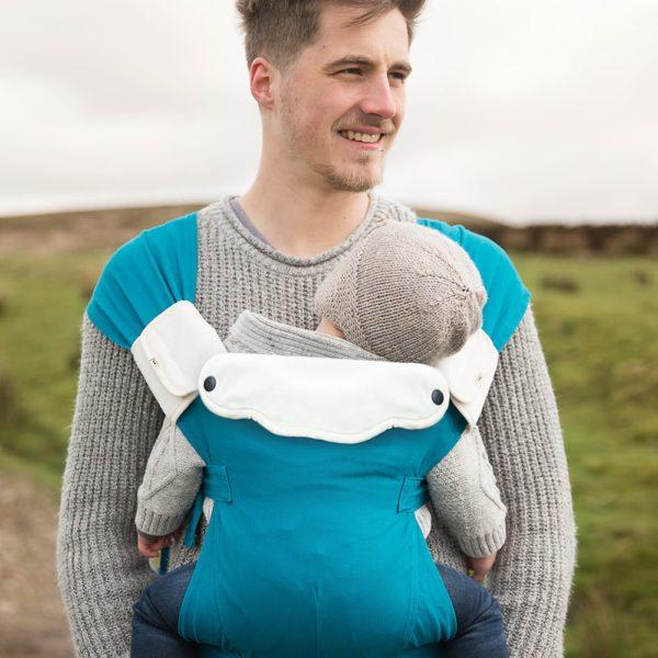 izmi baby carrier comfort set strap protector suck pads dribble bib dad