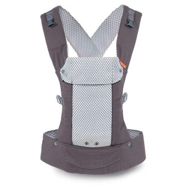 beco cool gemini carrier air mesh ergonomic baby carrier summer uk discount code Cool Grey