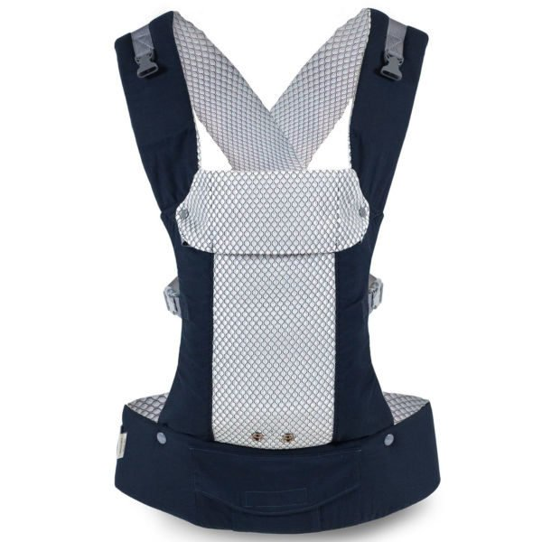 beco cool gemini carrier air mesh ergonomic baby carrier summer uk discount code navy blue