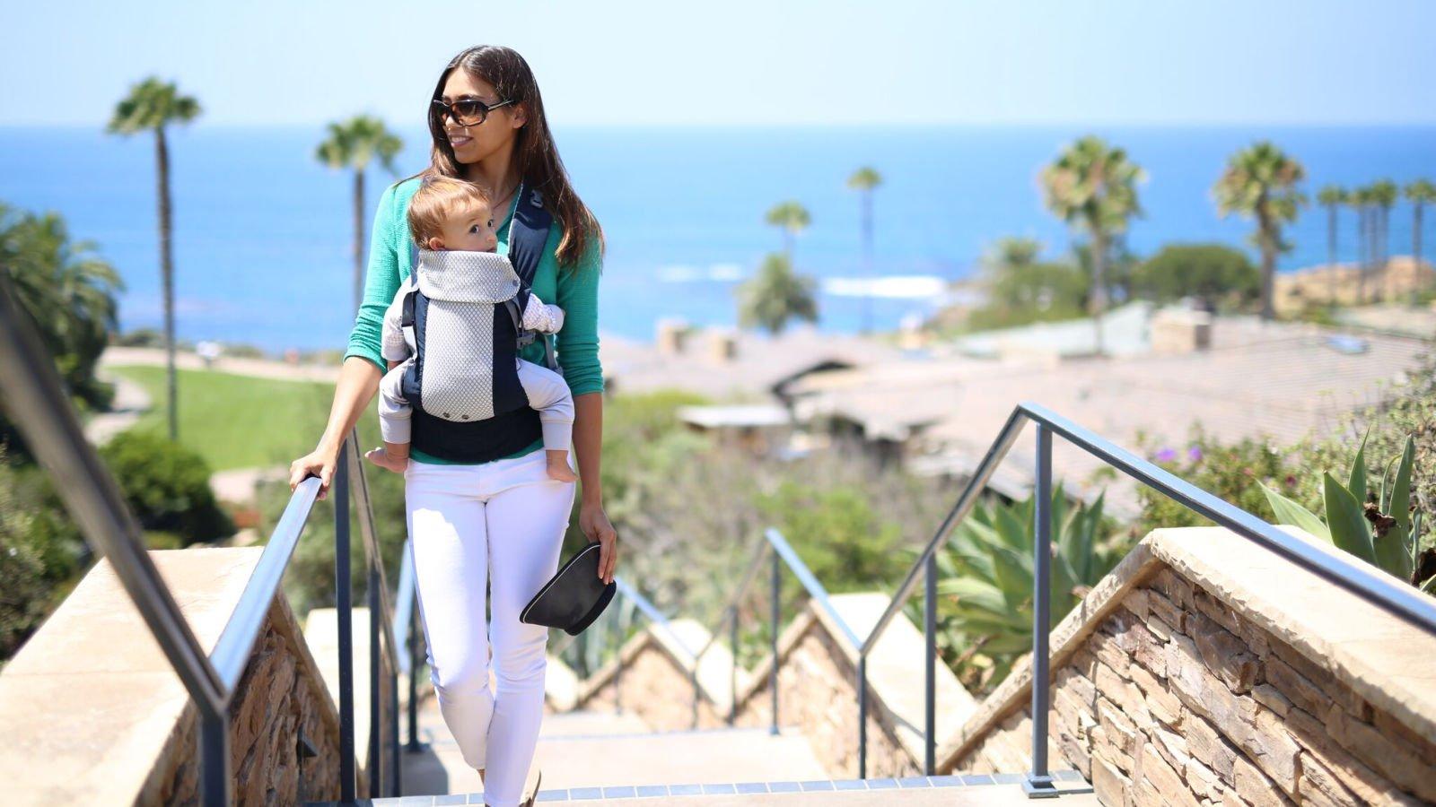beco gemini cool baby carrier review uk ergonomic newborn baby sling