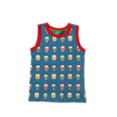 tuk tuk Vest little green radicals organic baby clothes little bird uk stockists summer free delivery