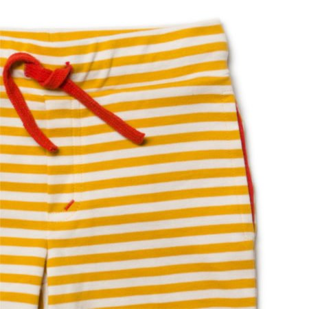 yellow gold mustard stripe shorts little green radicals organic baby clothes little bird uk stockists summer free delivery