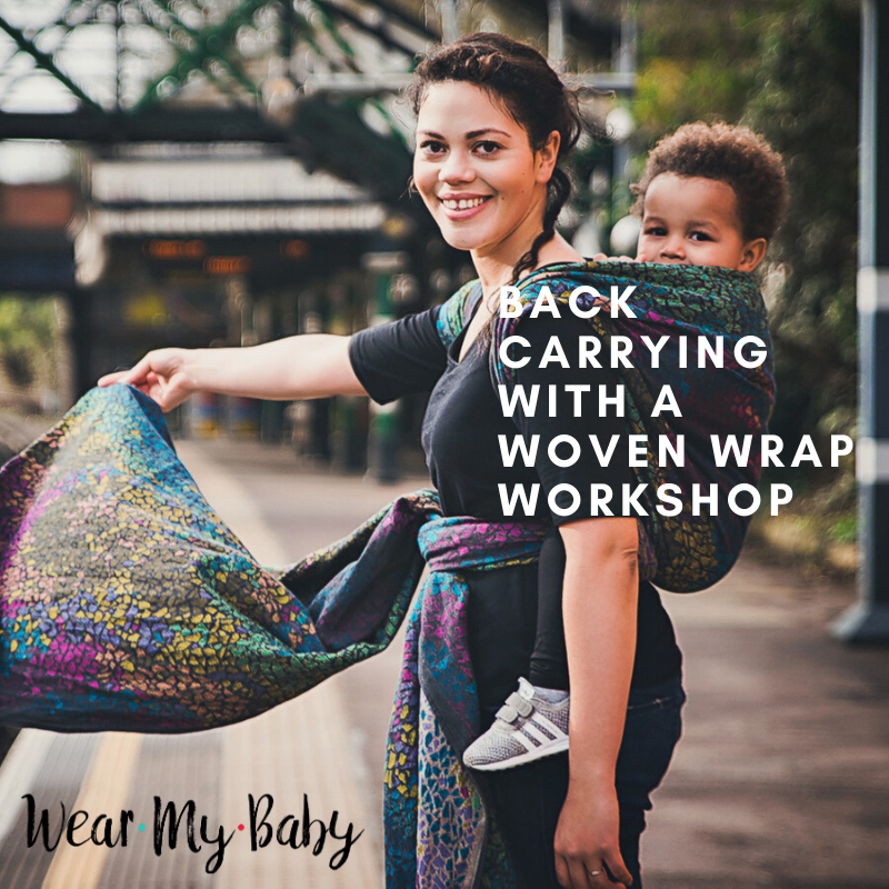 BACK CARRYING WITH A WOVEN WORKSHOP