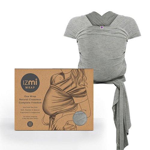 Izmi Essential Baby Wrap soft stretchy newborn carrier