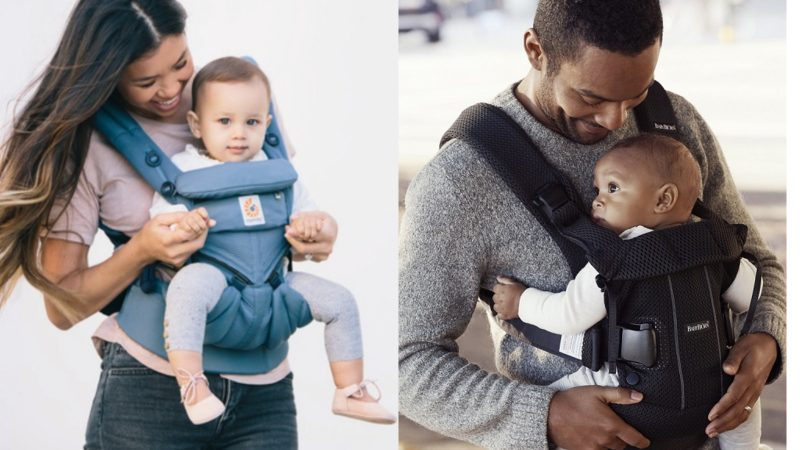 comparison of ergobaby omni 360 vs baby bjorn carrier one independent reviews of the best ergonomic newborn baby carriers for mums and dads