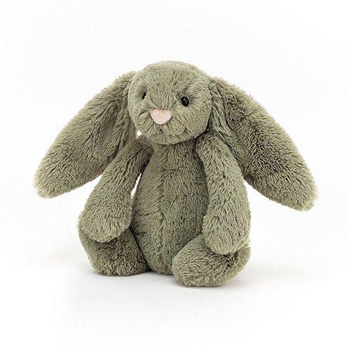 Jellycat Bashful Fern Bunny soft cuddly toy baby newborn rabbit gift