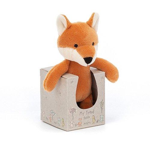 Jellycat My Friend Fox Rattle baby gift toy