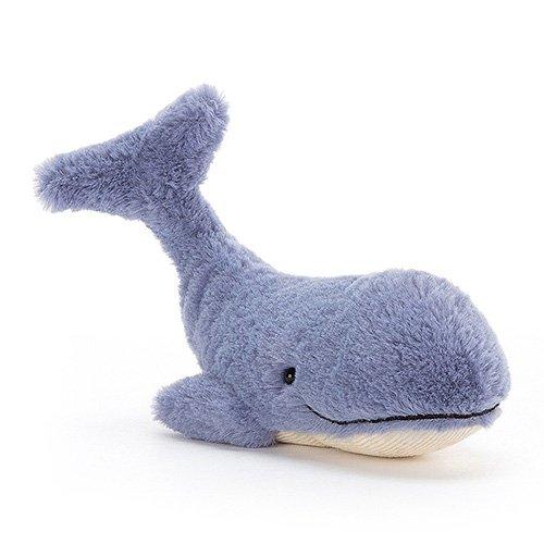 Jellycat Wilbur Whale soft cuddly toy baby newborn gift